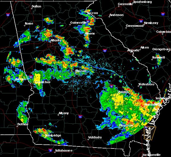 Radar Image for Severe Thunderstorms near Buckhead, GA at 6/9/2020 3:59 PM EDT