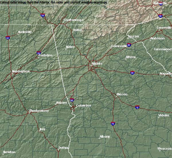 Radar Image for Severe Thunderstorms near Buckhead, GA at 6/9/2020 4:31 PM EDT