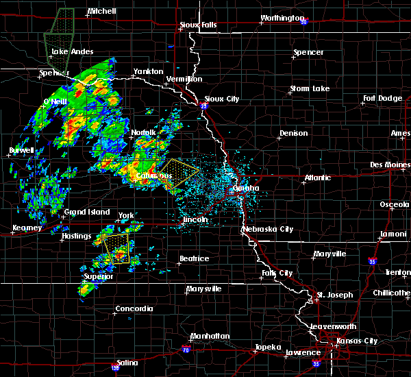 Radar Image for Severe Thunderstorms near North Bend, NE at 6/9/2020 3:48 PM CDT
