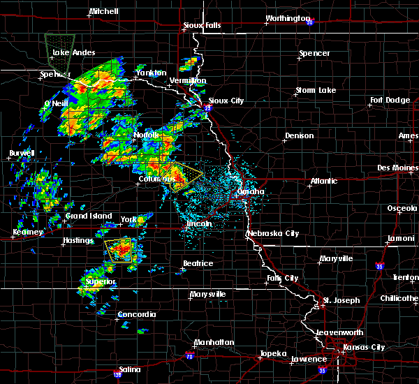Radar Image for Severe Thunderstorms near North Bend, NE at 6/9/2020 4:07 PM CDT