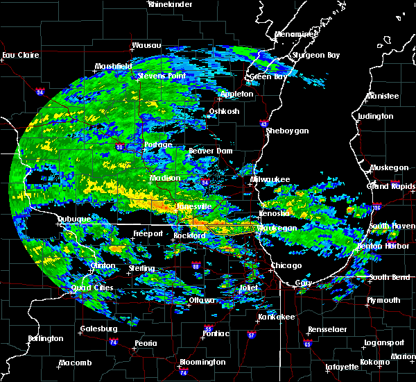 Radar Image for Severe Thunderstorms near Greenwood, IL at 6/9/2020 4:10 PM CDT