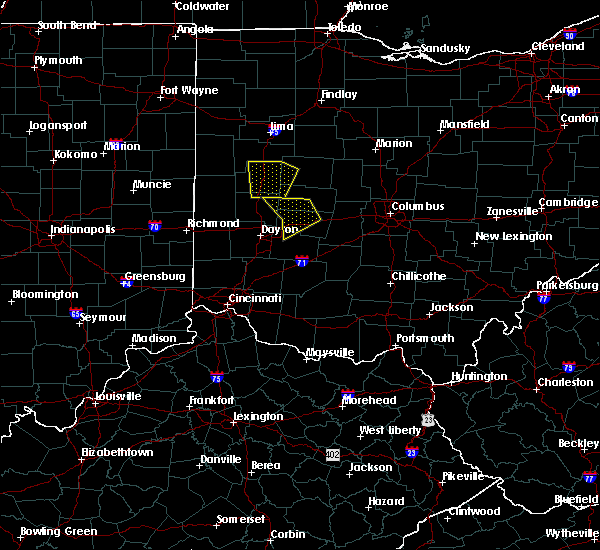 Radar Image for Severe Thunderstorms near St. Paris, OH at 6/9/2020 5:27 PM EDT