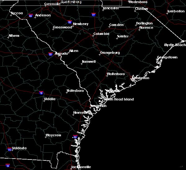 Radar Image for Severe Thunderstorms near Hardeeville, SC at 6/9/2020 5:33 PM EDT