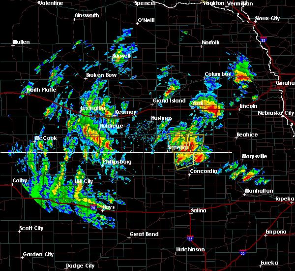 Radar Image for Severe Thunderstorms near Gilead, NE at 6/9/2020 5:25 PM CDT