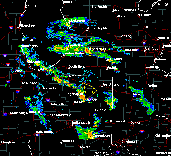 Radar Image for Severe Thunderstorms near Wabash, IN at 6/9/2020 6:32 PM EDT
