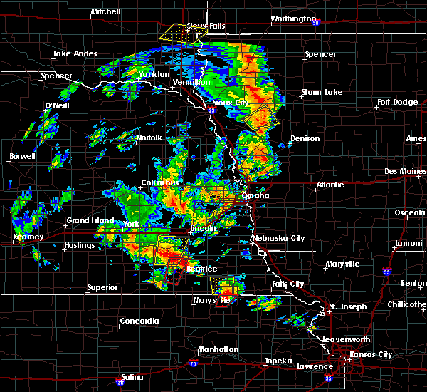 Radar Image for Severe Thunderstorms near Firth, NE at 6/9/2020 7:03 PM CDT