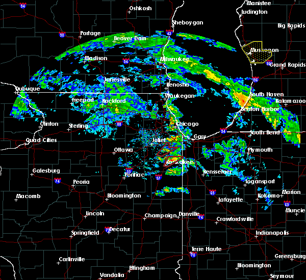 Radar Image for Severe Thunderstorms near Bradley, IL at 6/9/2020 7:04 PM CDT