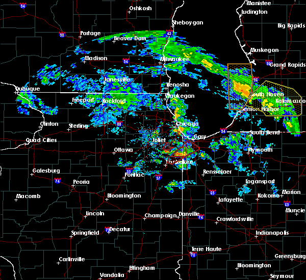 Radar Image for Severe Thunderstorms near Grant Park, IL at 6/9/2020 7:23 PM CDT