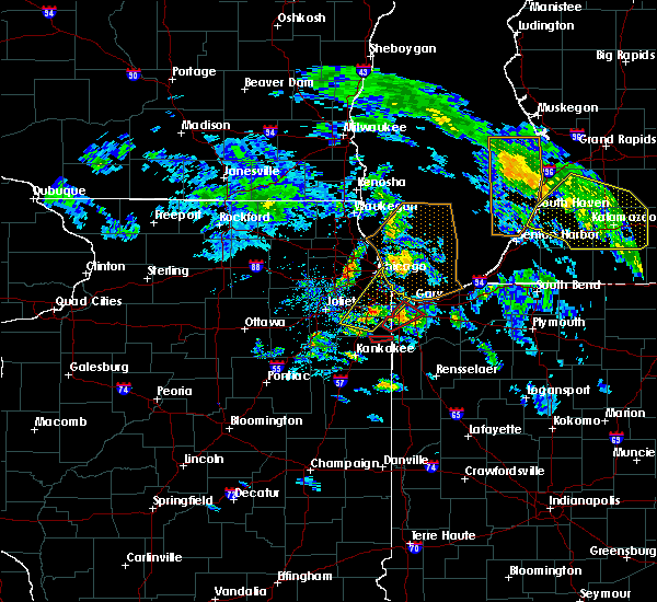 Radar Image for Severe Thunderstorms near Griffith, IN at 6/9/2020 7:30 PM CDT