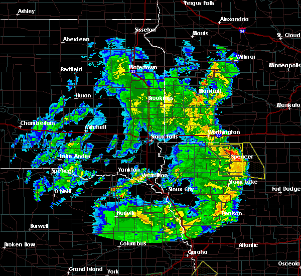 Radar Image for Severe Thunderstorms near Rodman, IA at 6/9/2020 8:32 PM CDT