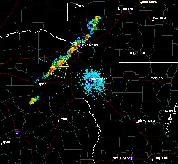 Radar Image for Severe Thunderstorms near Hughes Springs, TX at 6/9/2020 8:46 PM CDT