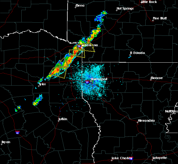 Radar Image for Severe Thunderstorms near Hughes Springs, TX at 6/9/2020 8:58 PM CDT