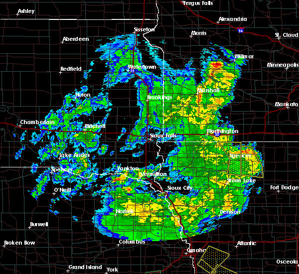 Radar Image for Severe Thunderstorms near Spencer, IA at 6/9/2020 8:59 PM CDT