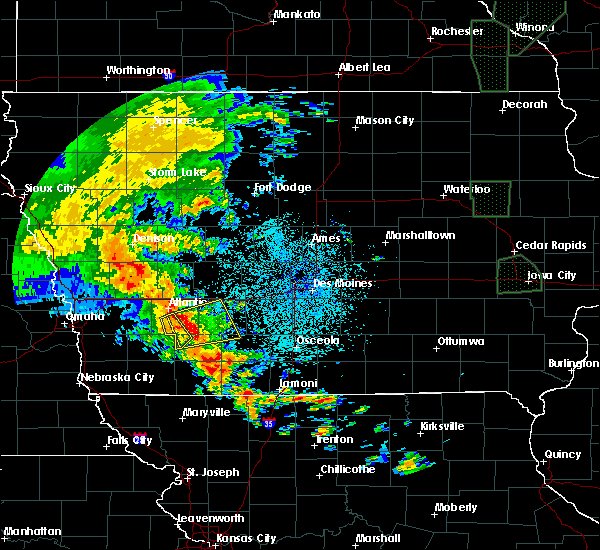 Radar Image for Severe Thunderstorms near Fontanelle, IA at 6/9/2020 10:10 PM CDT