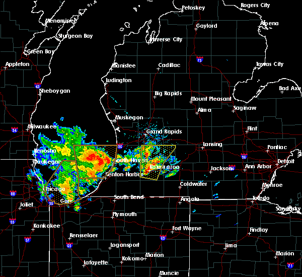 Radar Image for Severe Thunderstorms near Beechwood, MI at 6/10/2020 11:15 AM EDT