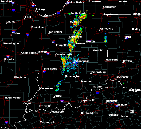 Radar Image for Severe Thunderstorms near Russiaville, IN at 6/10/2020 12:57 PM EDT