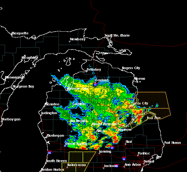 Radar Image for Severe Thunderstorms near Au Sable, MI at 6/10/2020 2:19 PM EDT