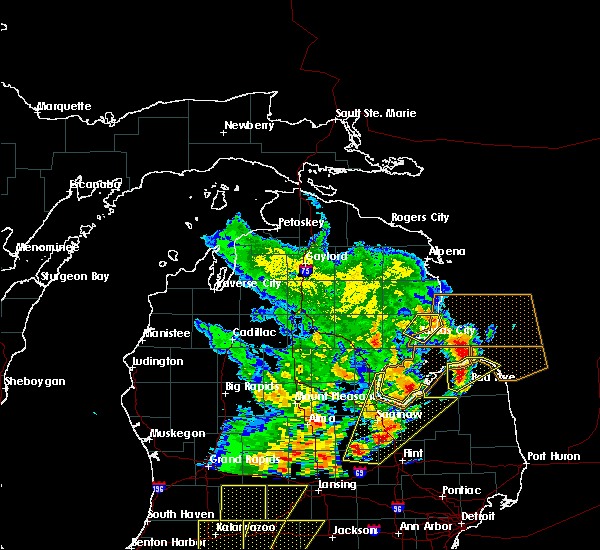 Radar Image for Severe Thunderstorms near Au Sable, MI at 6/10/2020 2:30 PM EDT