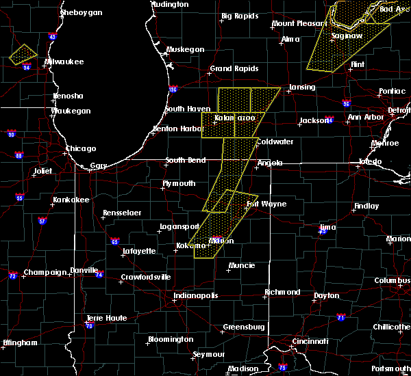 Radar Image for Severe Thunderstorms near Fort Wayne, IN at 6/10/2020 2:36 PM EDT
