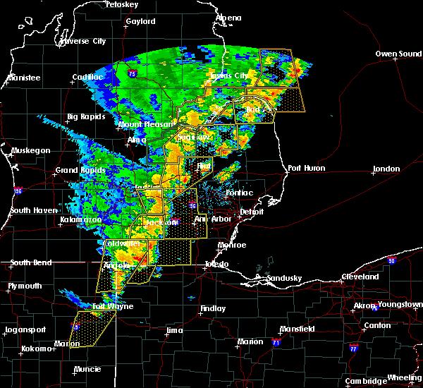 Radar Image for Severe Thunderstorms near Blissfield, MI at 6/10/2020 3:44 PM EDT