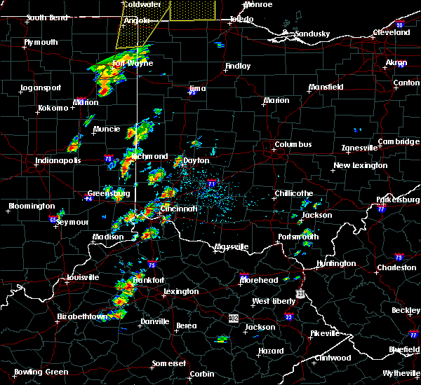 Radar Image for Severe Thunderstorms near Melbourne, KY at 6/10/2020 3:52 PM EDT
