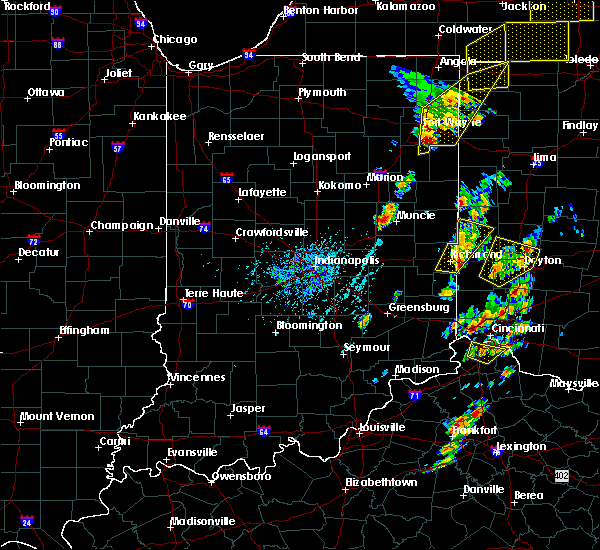 Radar Image for Severe Thunderstorms near Muncie, IN at 6/10/2020 4:08 PM EDT