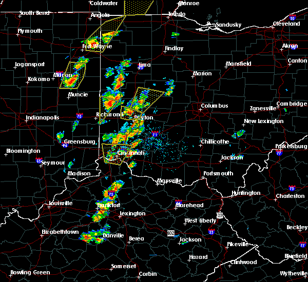 Radar Image for Severe Thunderstorms near North Star, OH at 6/10/2020 4:24 PM EDT