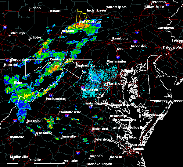Radar Image for Severe Thunderstorms near Paw Paw, WV at 6/10/2020 4:29 PM EDT