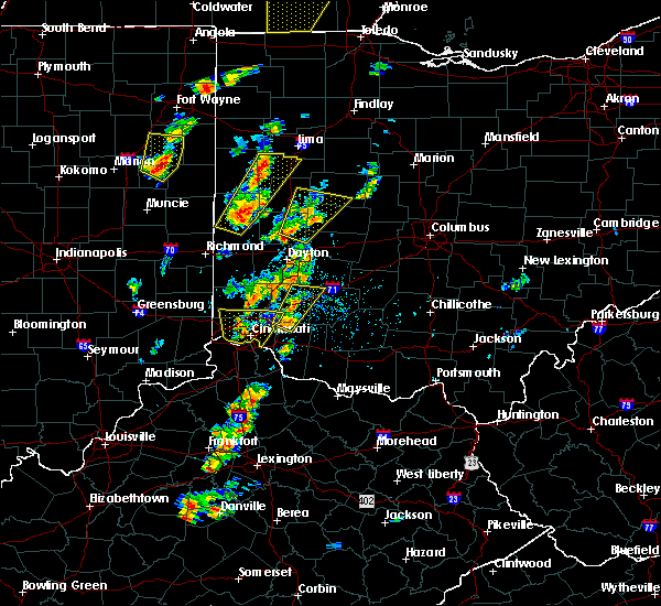 Radar Image for Severe Thunderstorms near Loveland, OH at 6/10/2020 4:33 PM EDT