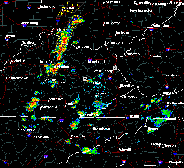 Radar Image for Severe Thunderstorms near Paris, KY at 6/10/2020 5:12 PM EDT