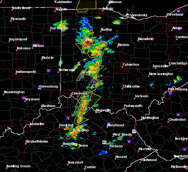 Radar Image for Severe Thunderstorms near Shawnee Hills, OH at 6/10/2020 5:13 PM EDT