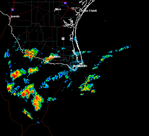 Radar Image for Severe Thunderstorms near Fernando Salinas, TX at 6/10/2020 4:17 PM CDT