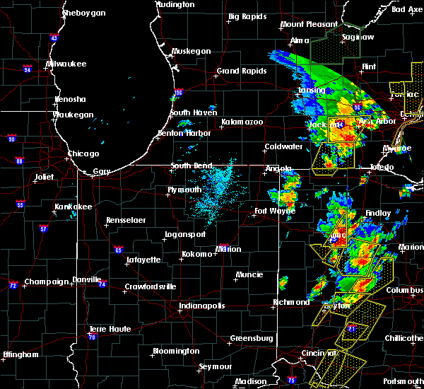 Radar Image for Severe Thunderstorms near Pandora, OH at 6/10/2020 5:21 PM EDT