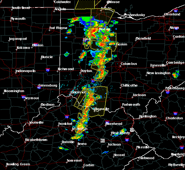 Radar Image for Severe Thunderstorms near Lafayette, OH at 6/10/2020 5:33 PM EDT