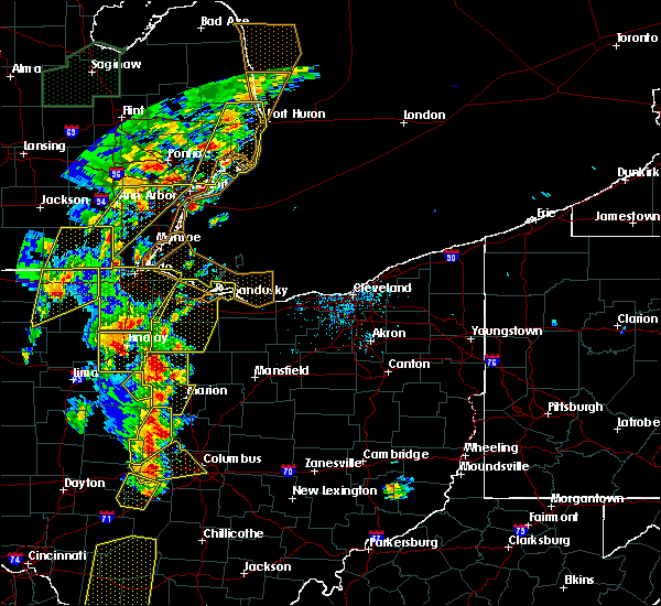 Radar Image for Severe Thunderstorms near Green Springs, OH at 6/10/2020 5:41 PM EDT