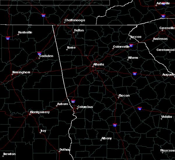 Radar Image for Severe Thunderstorms near Columbus, GA at 6/10/2020 5:44 PM EDT