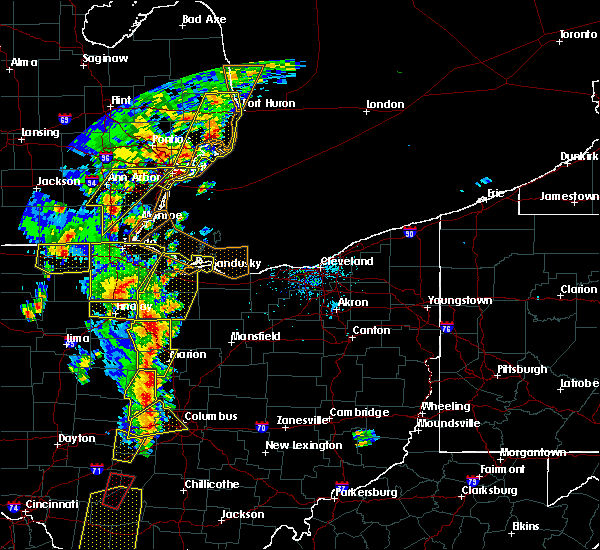 Radar Image for Severe Thunderstorms near Mount Gilead, OH at 6/10/2020 5:53 PM EDT