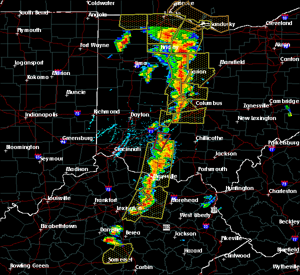 Radar Image for Severe Thunderstorms near Clarksburg, OH at 6/10/2020 6:01 PM EDT
