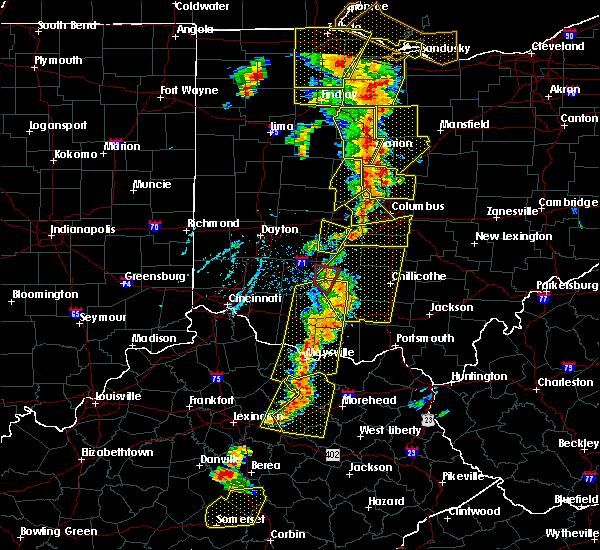 Radar Image for Severe Thunderstorms near Minerva Park, OH at 6/10/2020 6:07 PM EDT