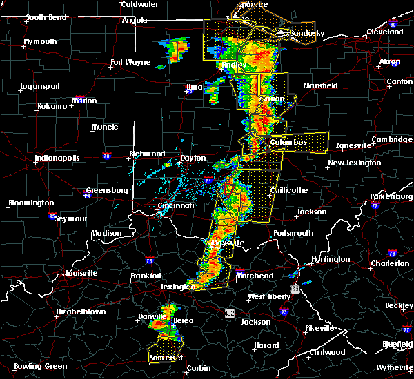Radar Image for Severe Thunderstorms near Grandview Heights, OH at 6/10/2020 6:09 PM EDT