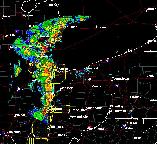 Radar Image for Severe Thunderstorms near Mount Gilead, OH at 6/10/2020 6:21 PM EDT