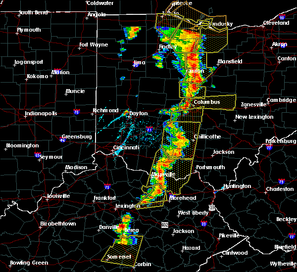 Radar Image for Severe Thunderstorms near Westerville, OH at 6/10/2020 6:22 PM EDT