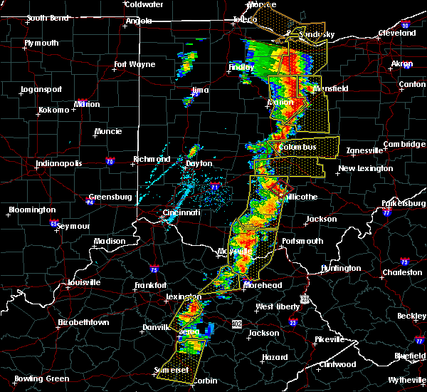 Radar Image for Severe Thunderstorms near Pleasantville, OH at 6/10/2020 6:37 PM EDT