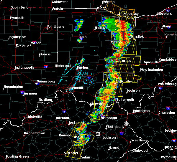 Radar Image for Severe Thunderstorms near Circleville, OH at 6/10/2020 6:42 PM EDT