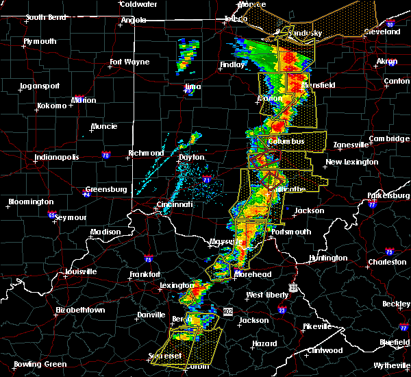 Radar Image for Severe Thunderstorms near Westerville, OH at 6/10/2020 6:48 PM EDT