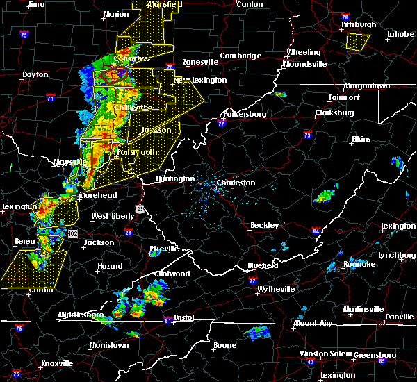 Radar Image for Severe Thunderstorms near Greenup, KY at 6/10/2020 6:51 PM EDT