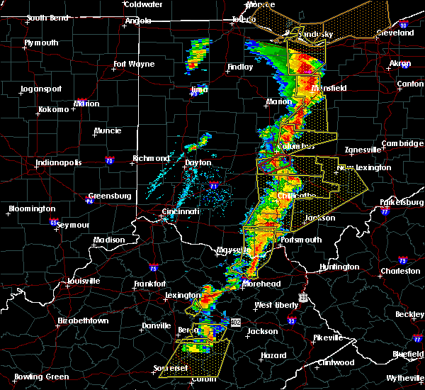 Radar Image for Severe Thunderstorms near Pleasantville, OH at 6/10/2020 6:53 PM EDT