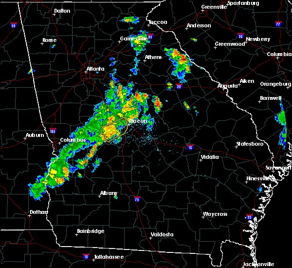 Radar Image for Severe Thunderstorms near Macon, GA at 6/10/2020 6:59 PM EDT