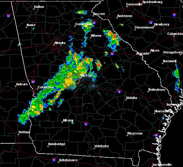 Radar Image for Severe Thunderstorms near Byron, GA at 6/10/2020 6:59 PM EDT