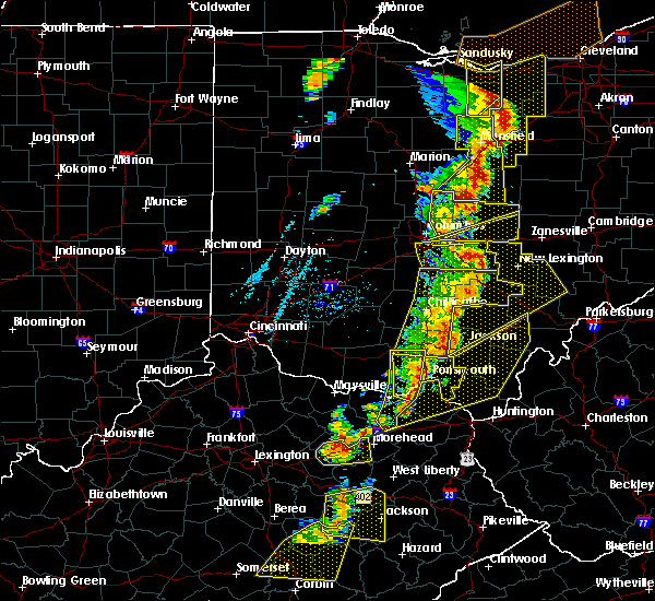 Radar Image for Severe Thunderstorms near Westerville, OH at 6/10/2020 7:08 PM EDT